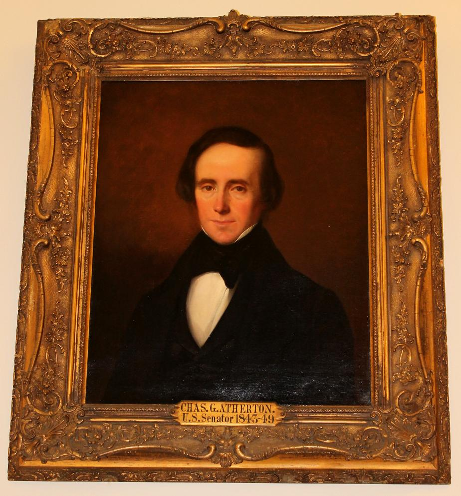 Charles Atherton NH State House Portrait