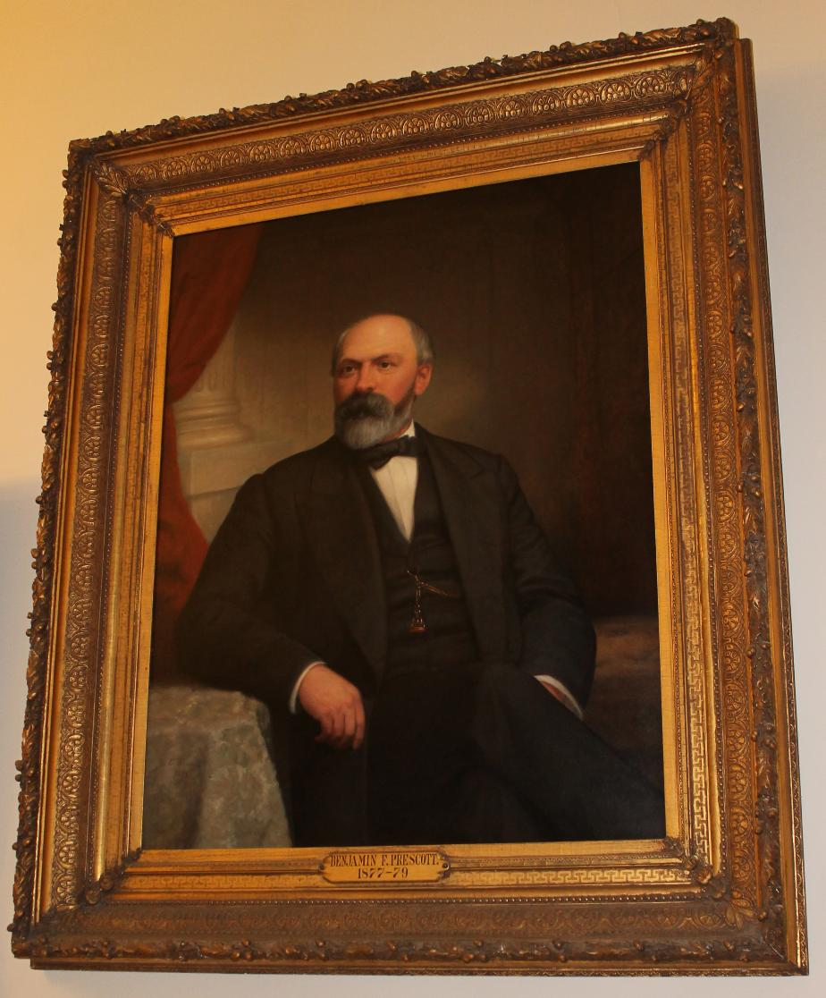 NH Governor Benjamin Prescott, State House Portrait