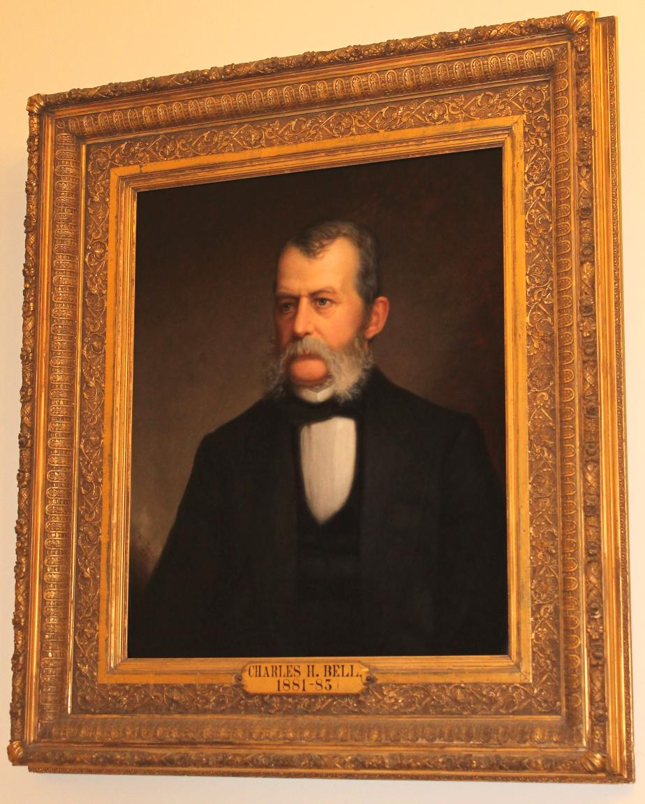 Governor Charles H. Bell NH State House Portraits