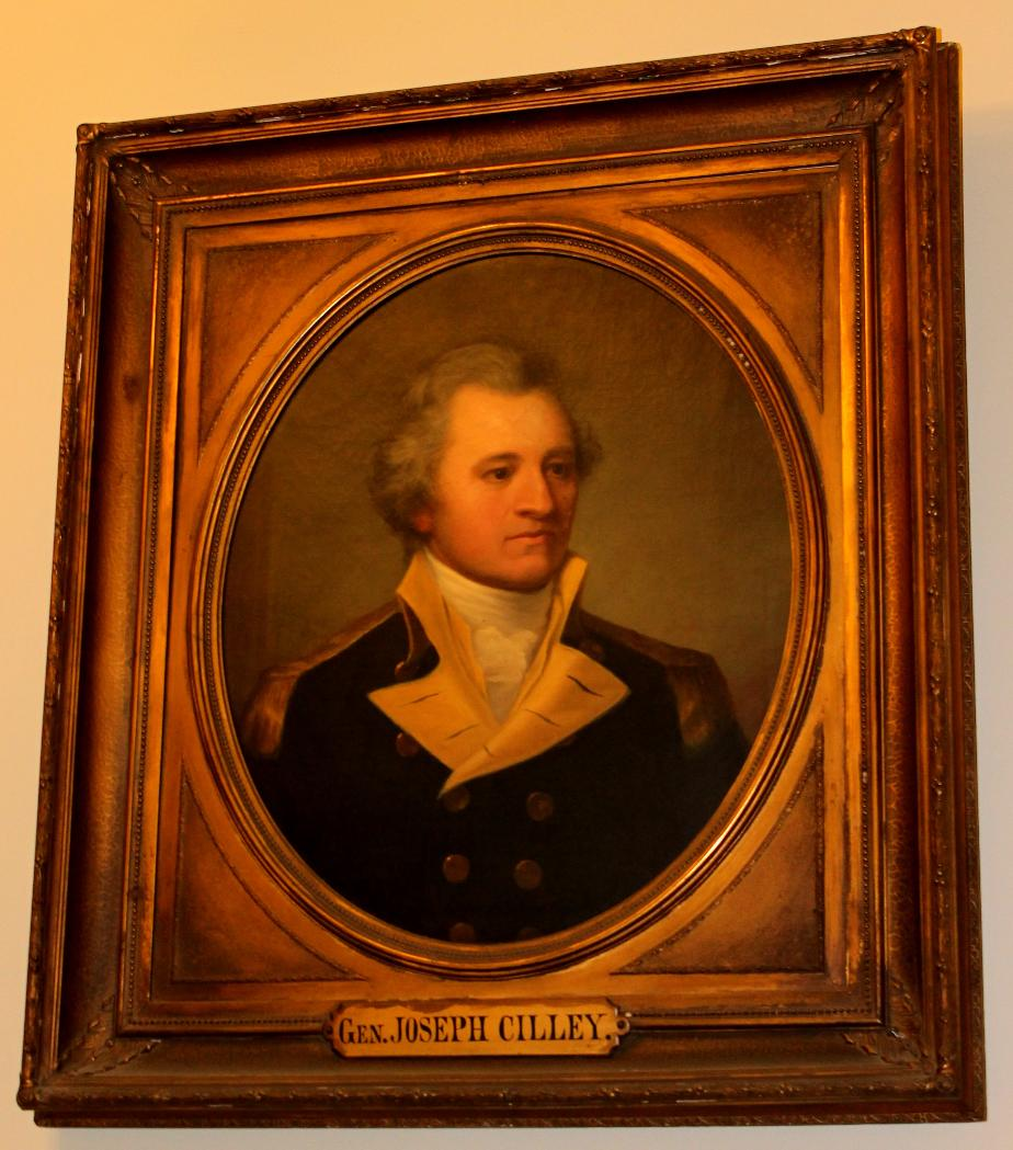 General Joseph Cilley NH State House Portrait