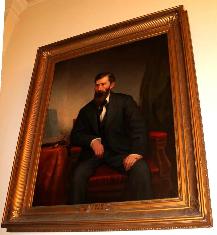 Colonel Phineas P Bixby NH State House Portrait