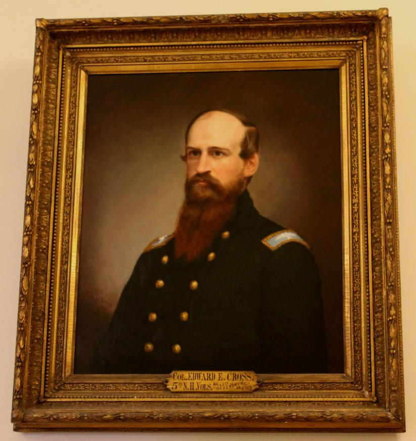 Colonel Edward Cross, NH State House Portrait