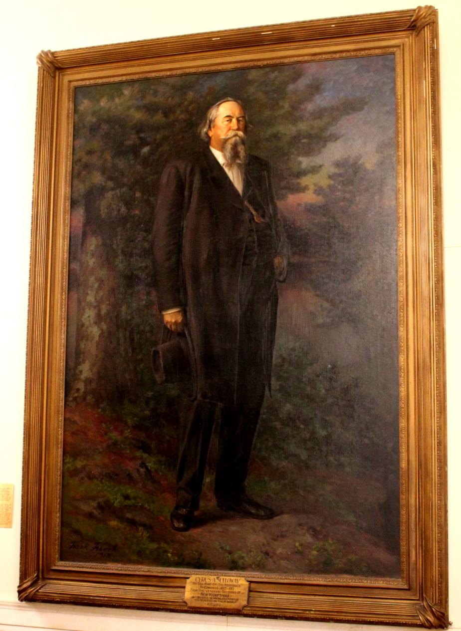 Cyrus Sulloway NH State House Portrait