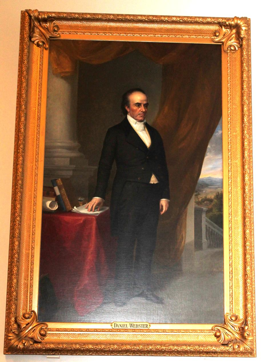 Daniel Webster, NH State House Portrait