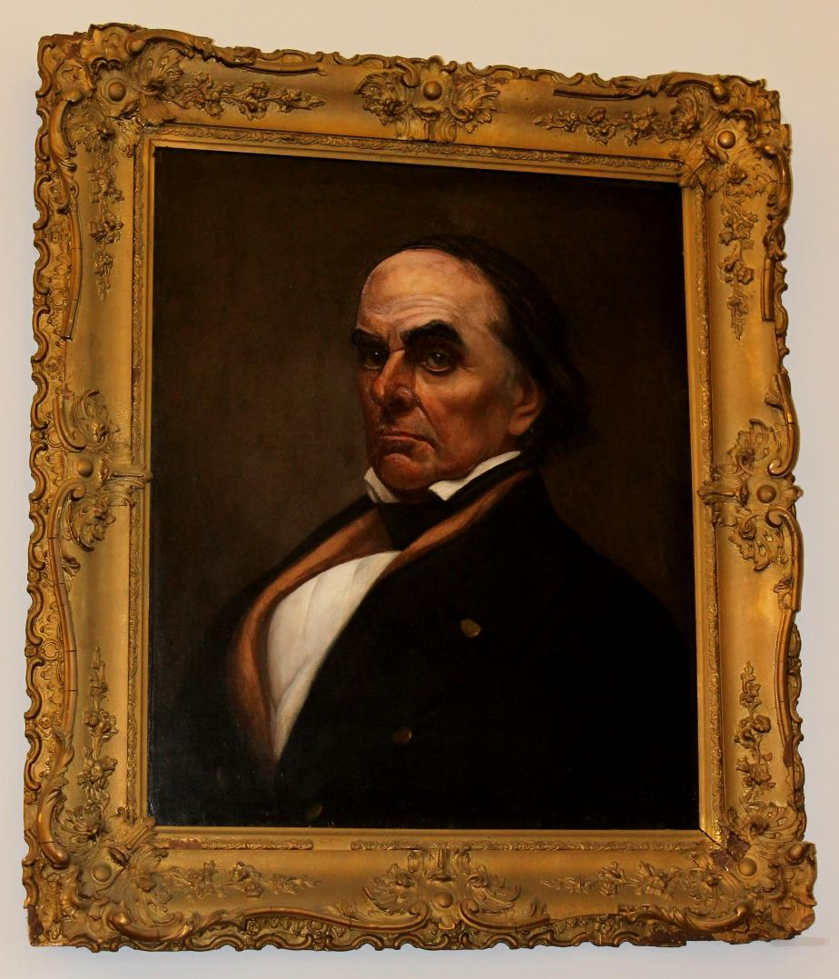 Daniel Webster - NHState Library Portrait