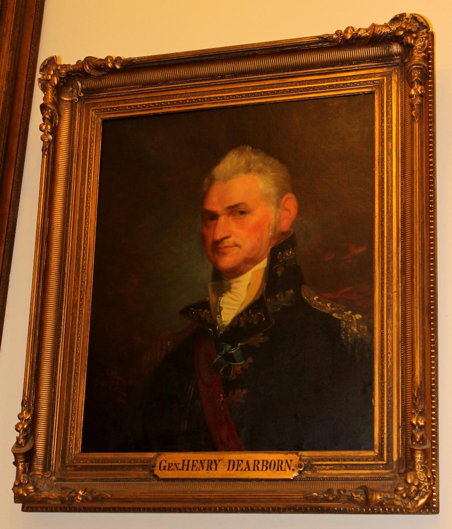 General Henry Dearborn NH State House Portrait