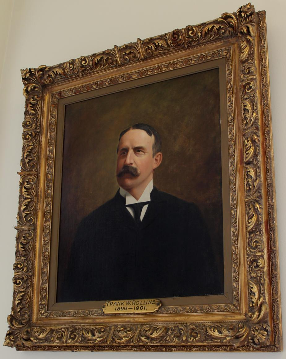 Governor Frank Rollins Nh State House Portrait