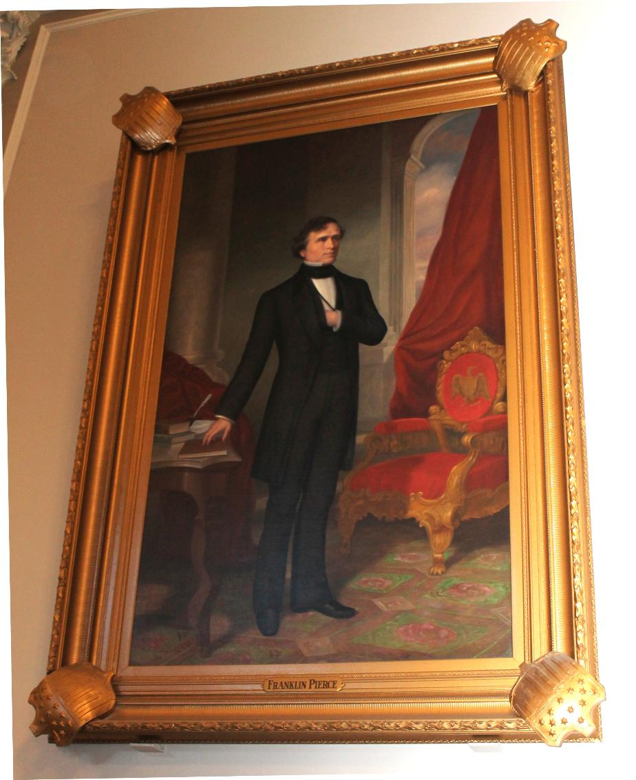 Franklin Pierce, NH State House Portrait
