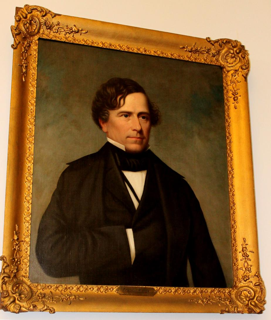 Franklin Pierc e - NH State Library Portrait