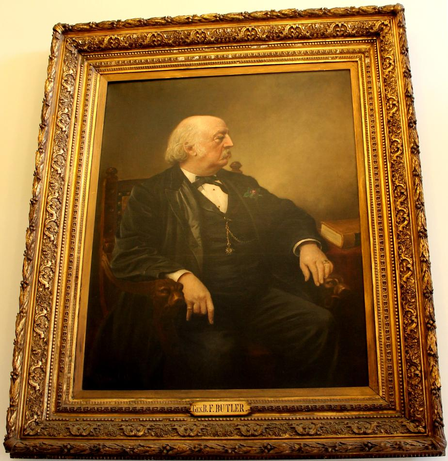 General Benjamin Butler NH State House Portrait