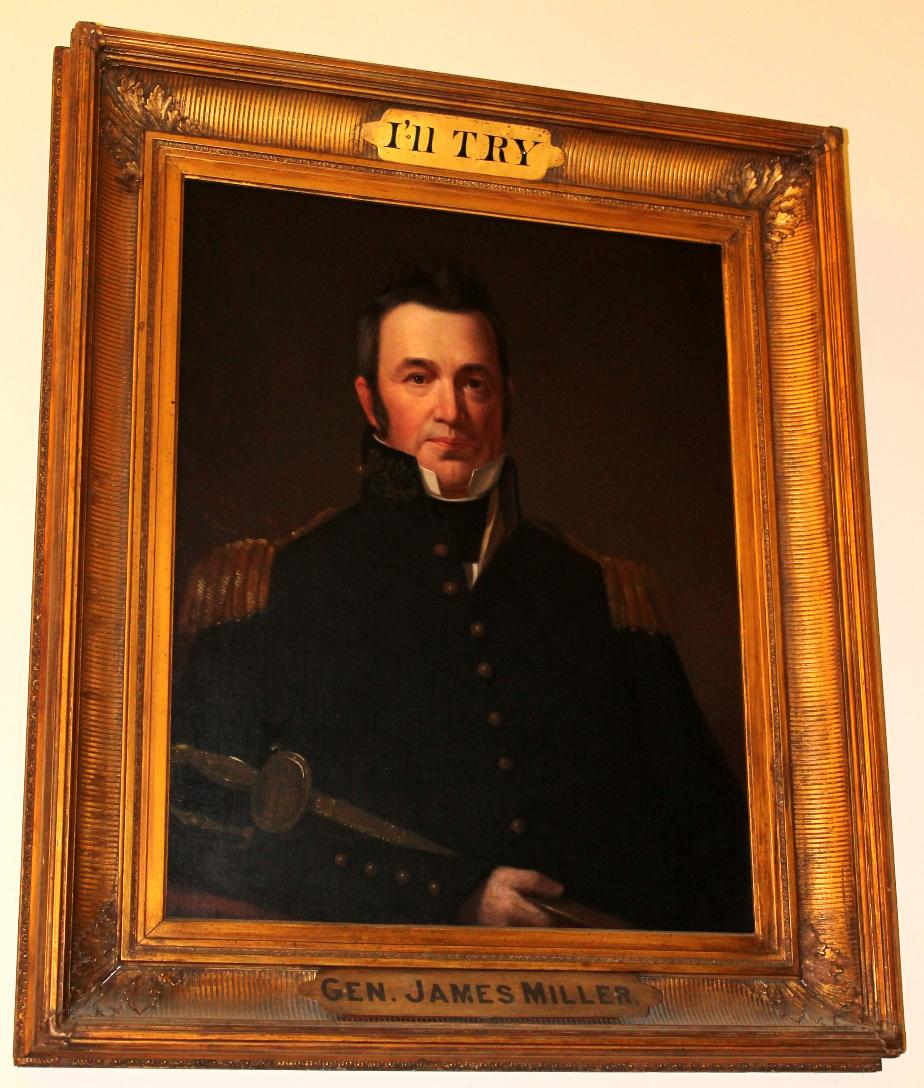 General James Miller, Nh State House Portrait