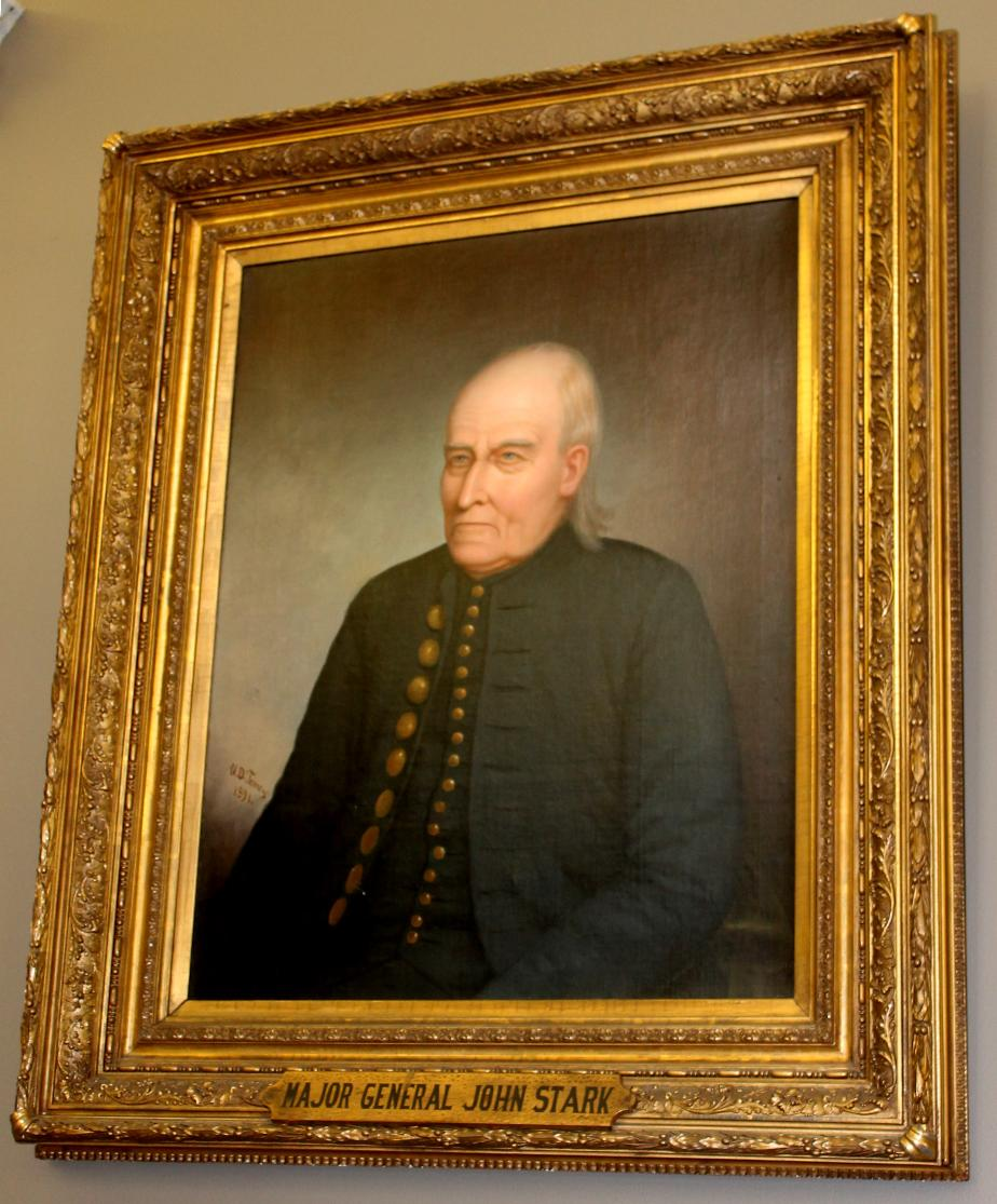General John Stark - NH State Library Portrait