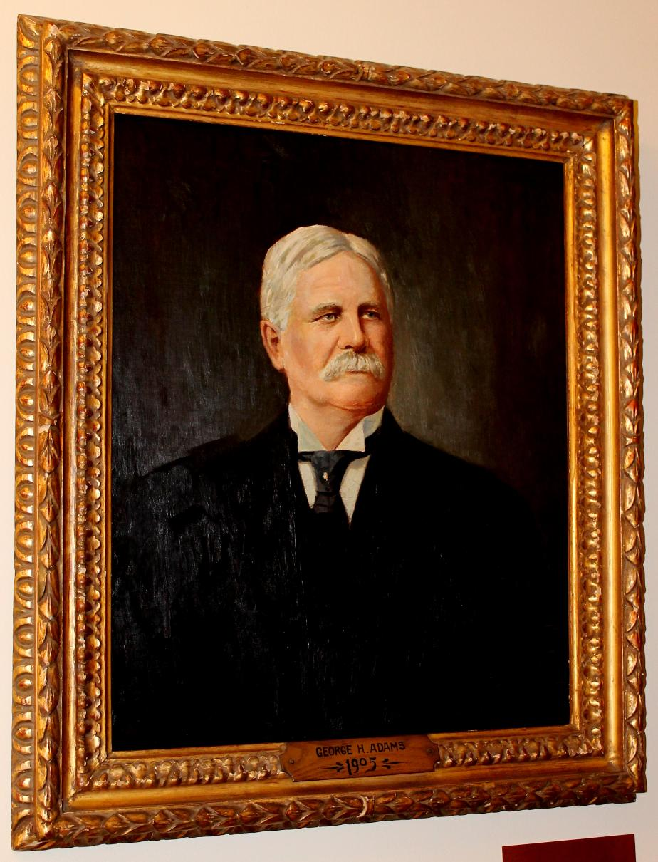 George H Adams - NH State House Portrait