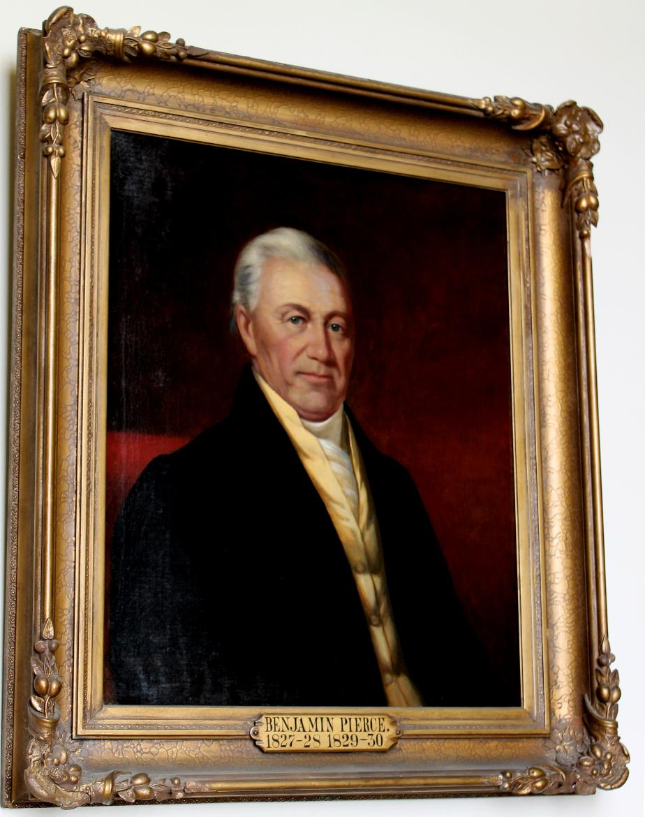 Benjamin Pierce NH Governor 1827-1830 State House Portrait