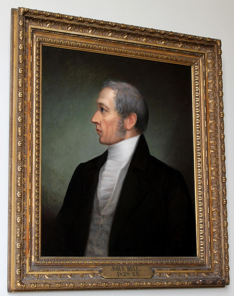 Governor John Bell NH State House Portrait