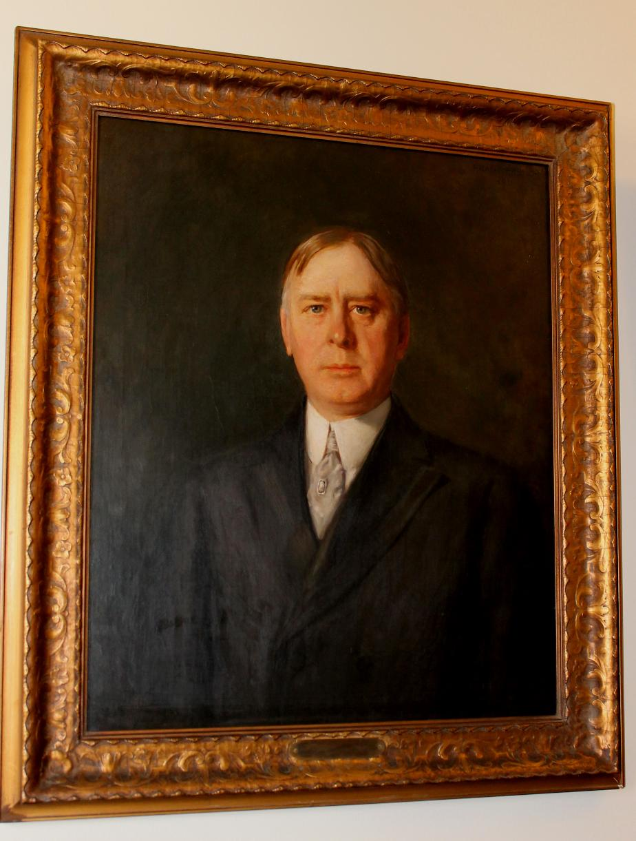 Harry T Lord - NH Senate President 1909-1910 NH State House Portrait