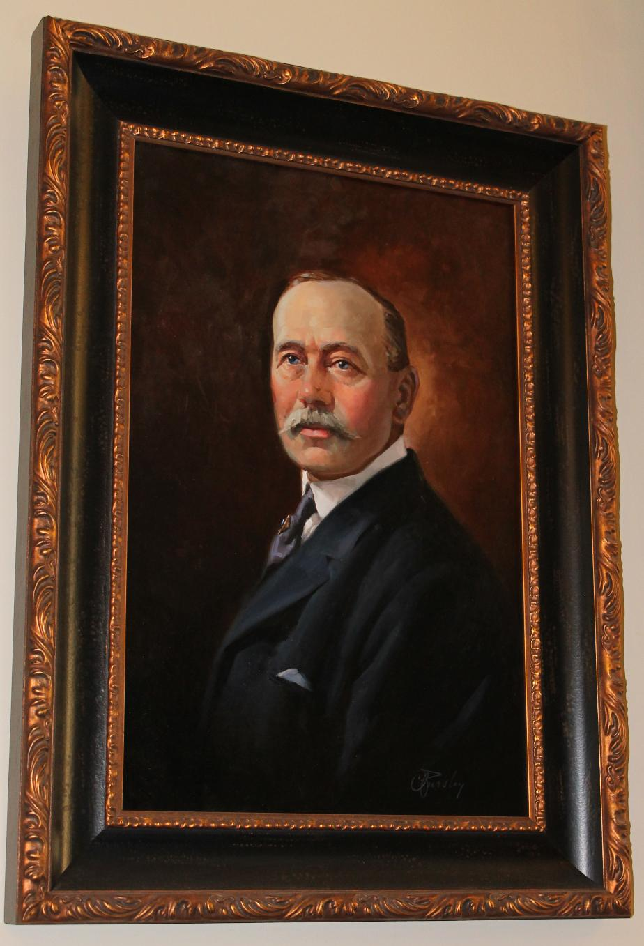 NH Governor Henry W. Keyes , NH State House Portrait