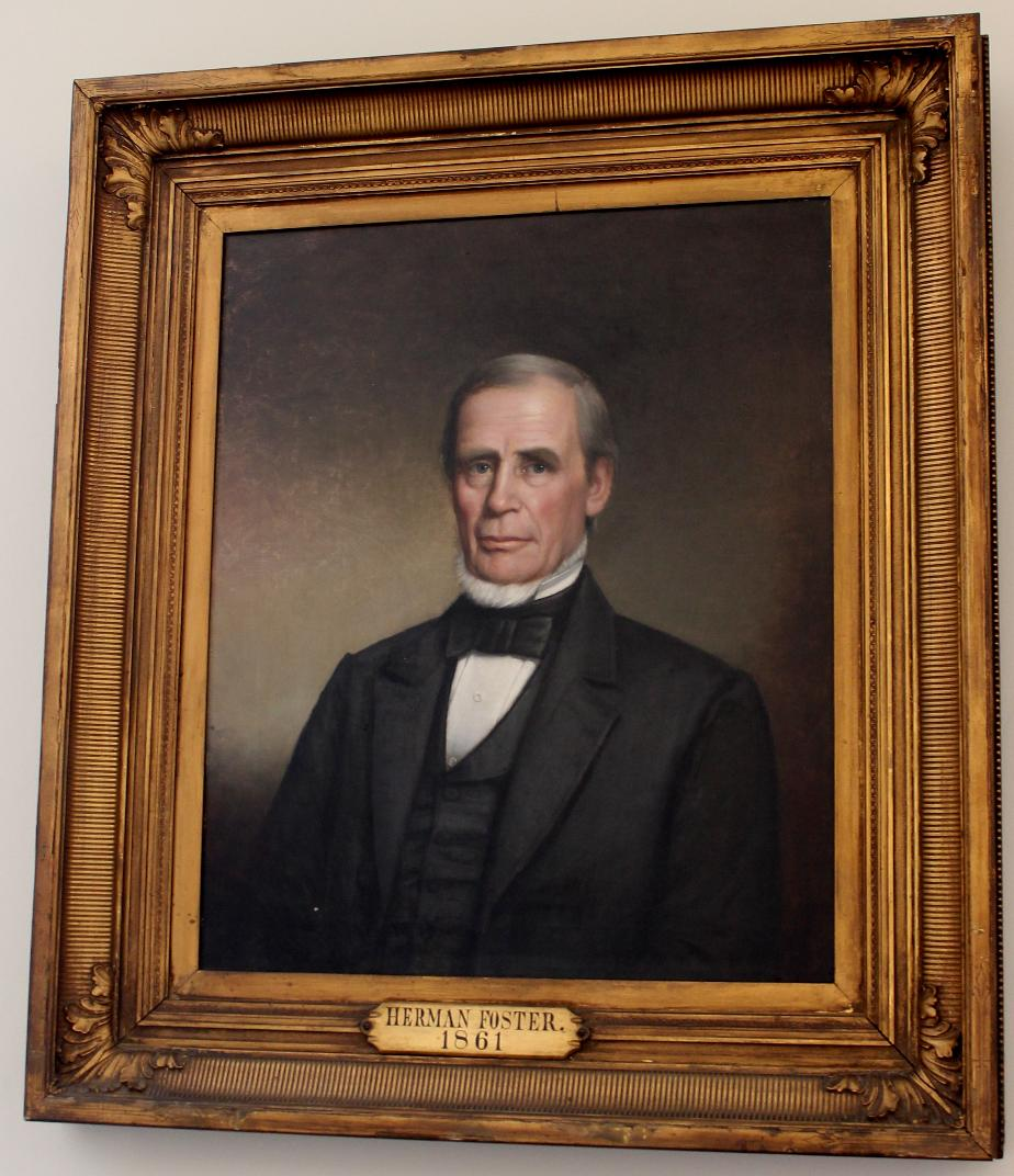 Herman Foster NH State House Portrait