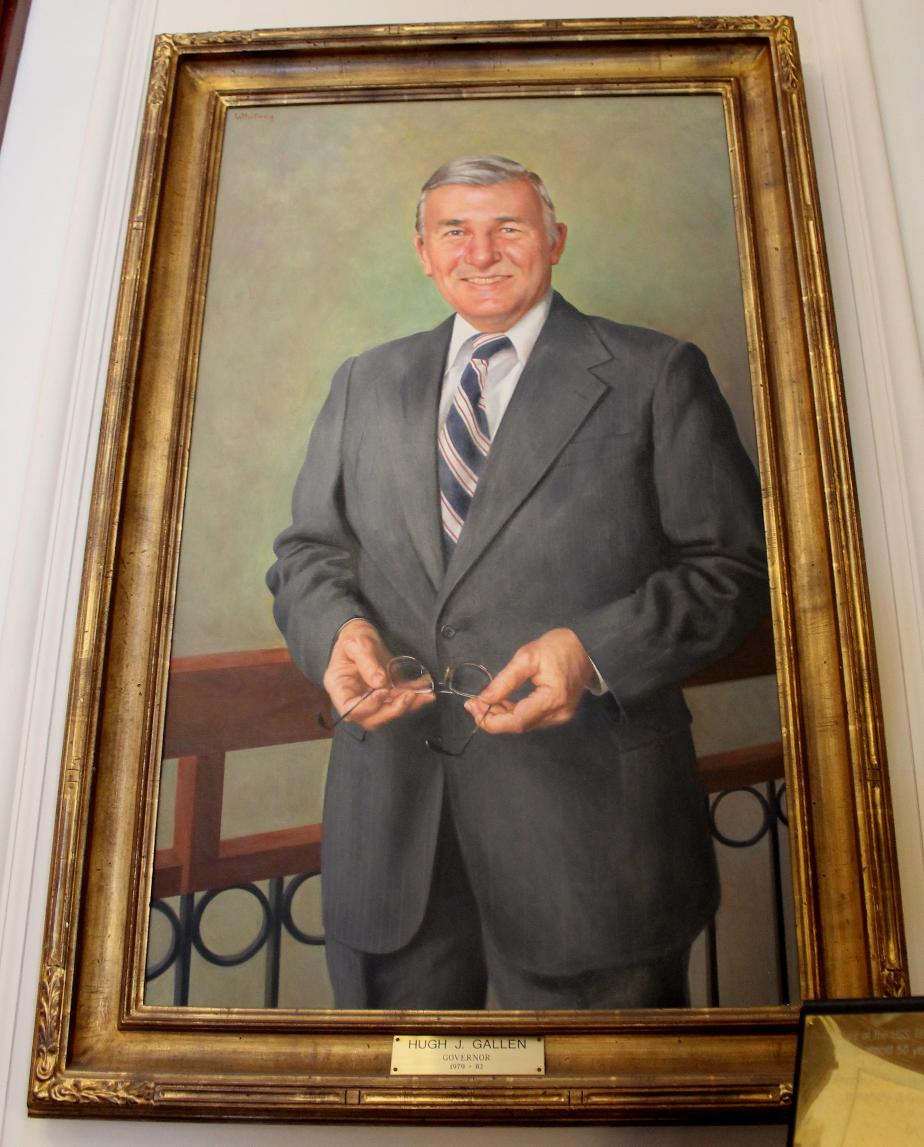 Hugh Gallen, NH State House Portrait