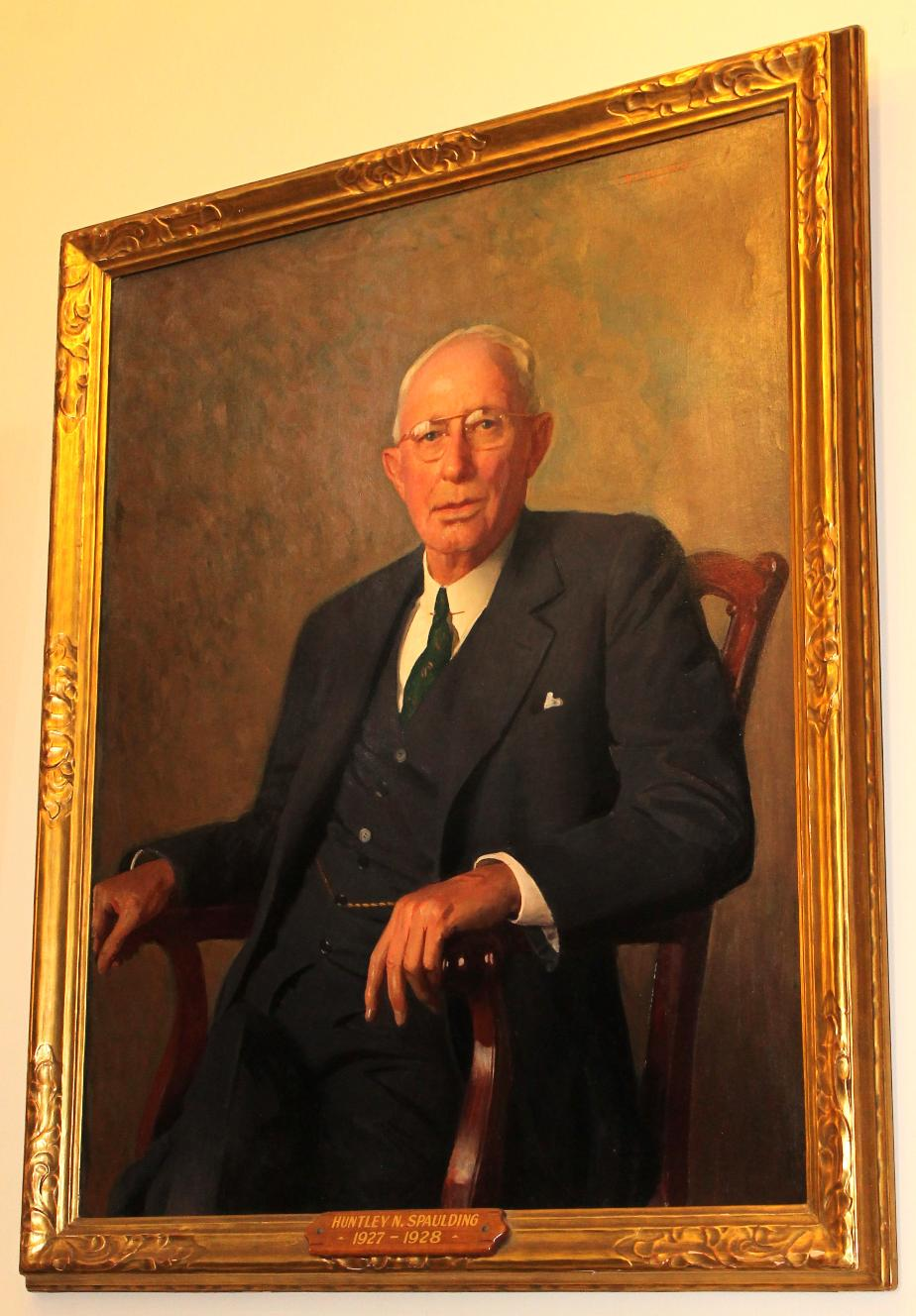 Governor Huntley Spaulding Nh State House Portrait