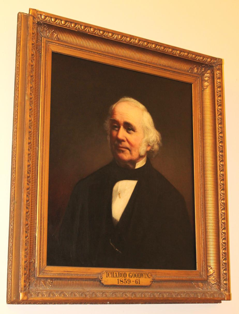 Icabod Goodwin NH Govornor State House Portrait