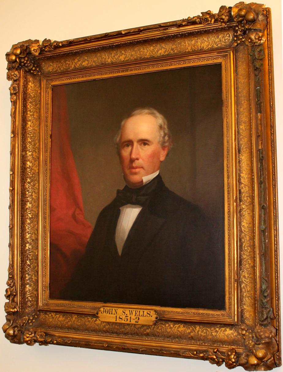 John Sullivan Wells NH State House Portrait