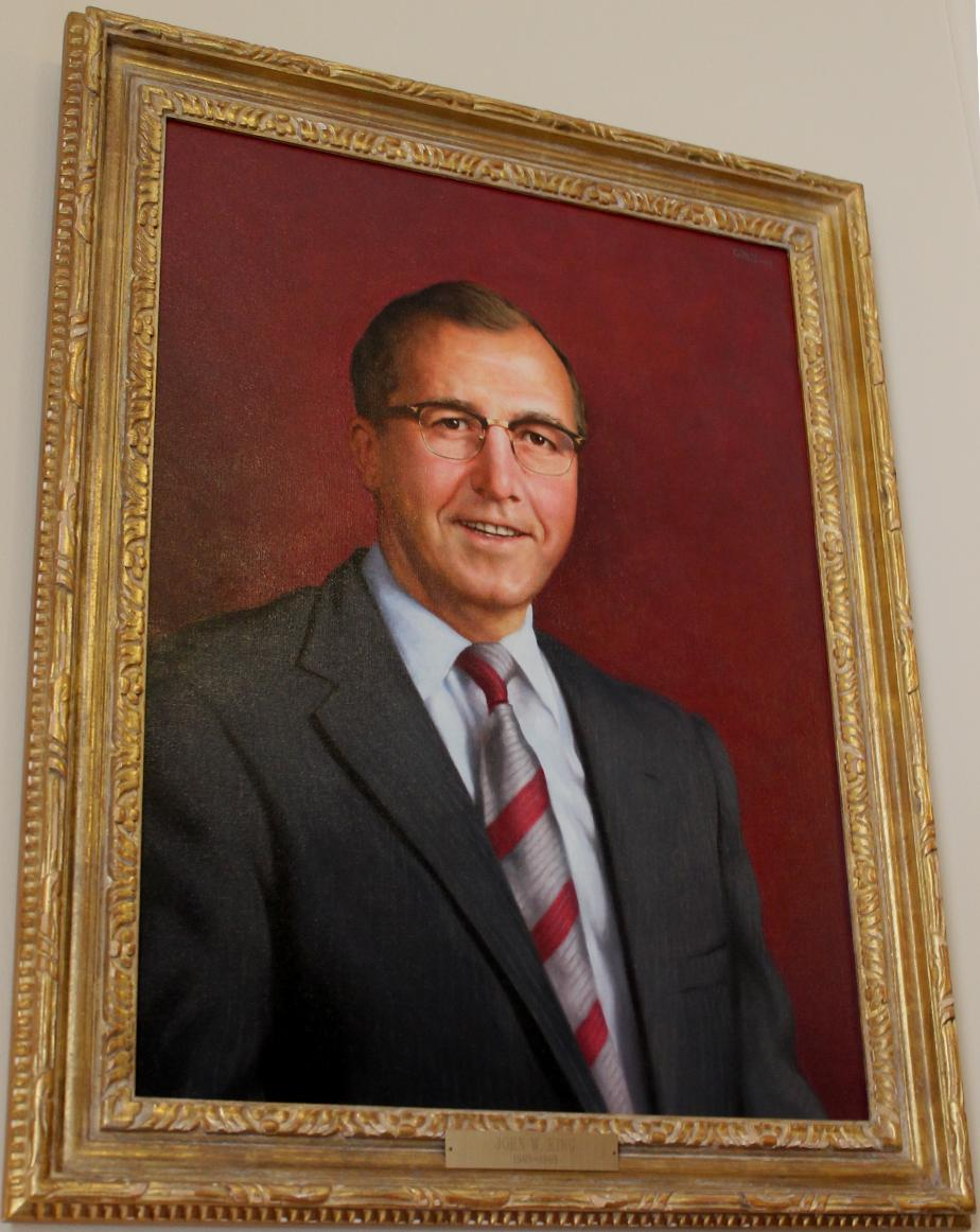 John w King, NH State House Portrait