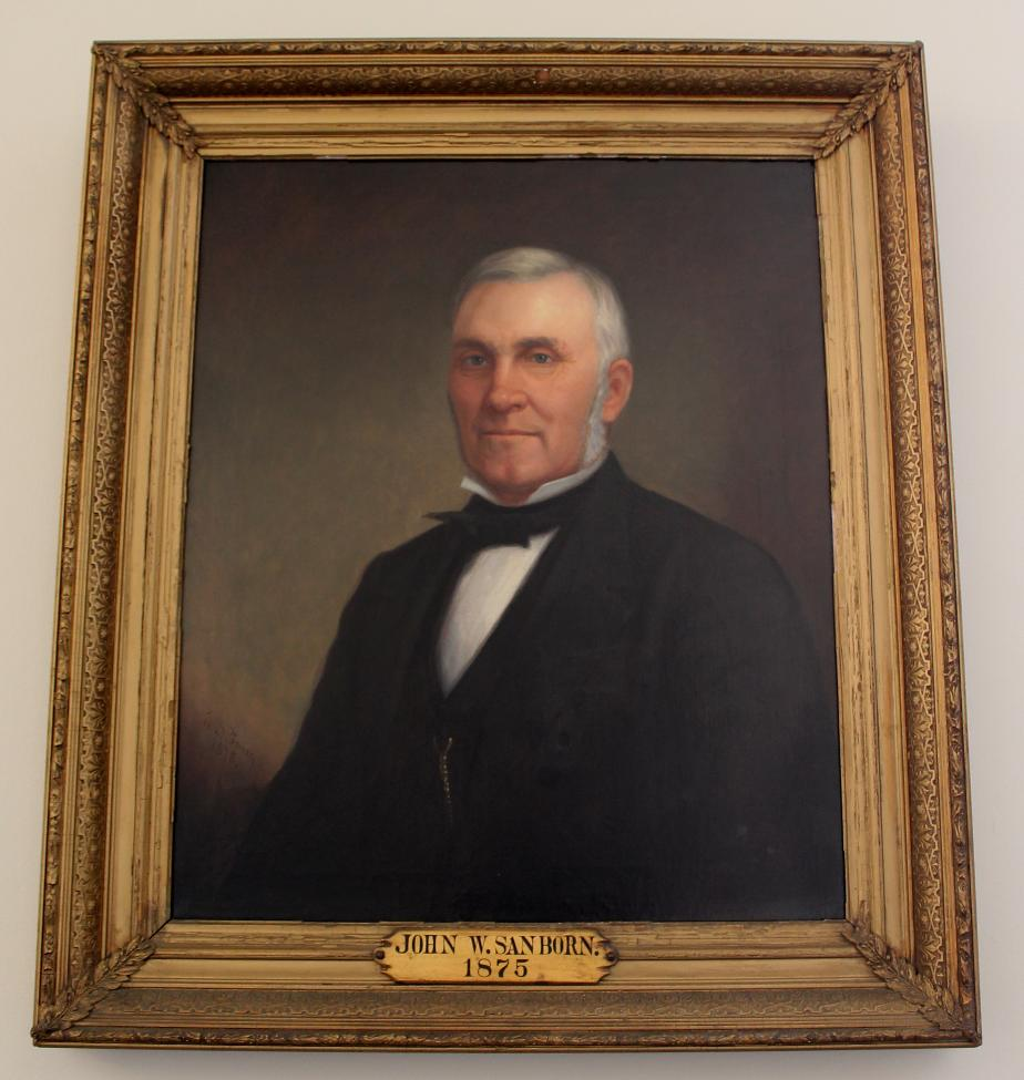 JohnW Sanborn NH State House Portrait