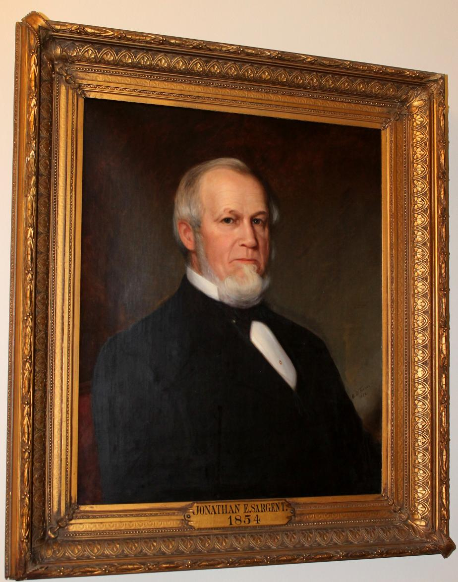 Jonathan E Sargent NH State House Portrait
