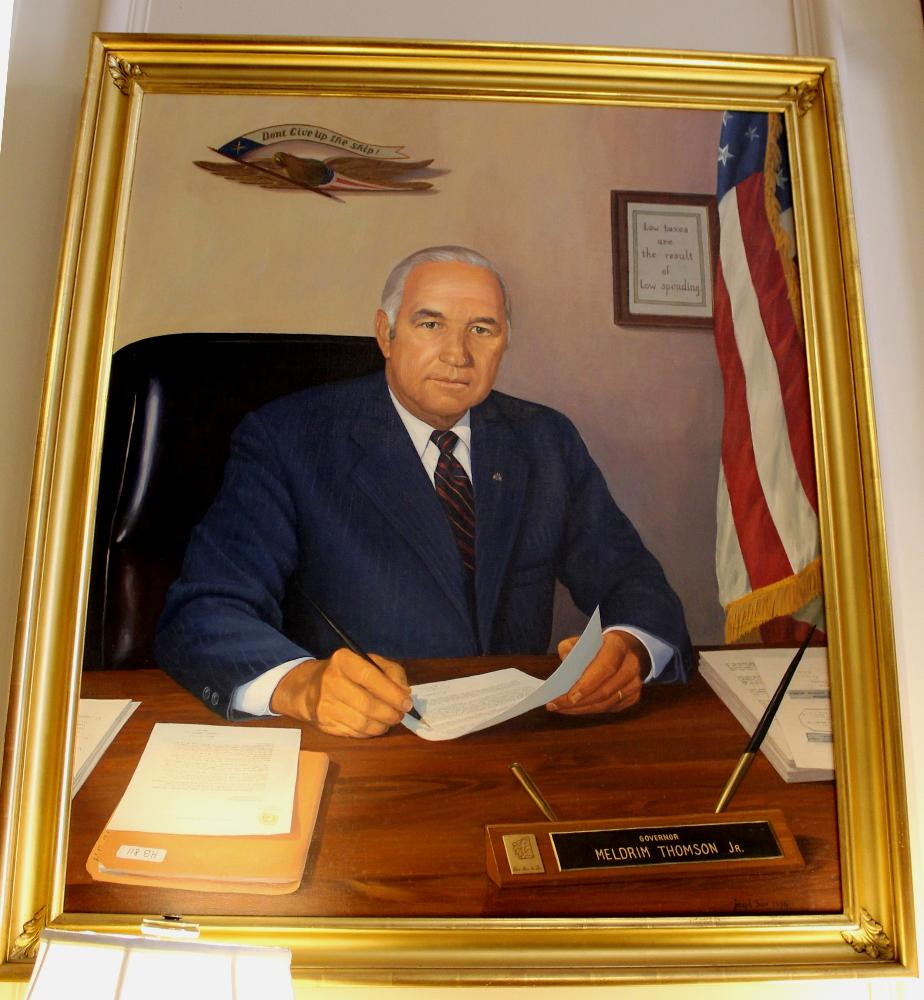 Meldrim Thomson Jr, State House Portrait