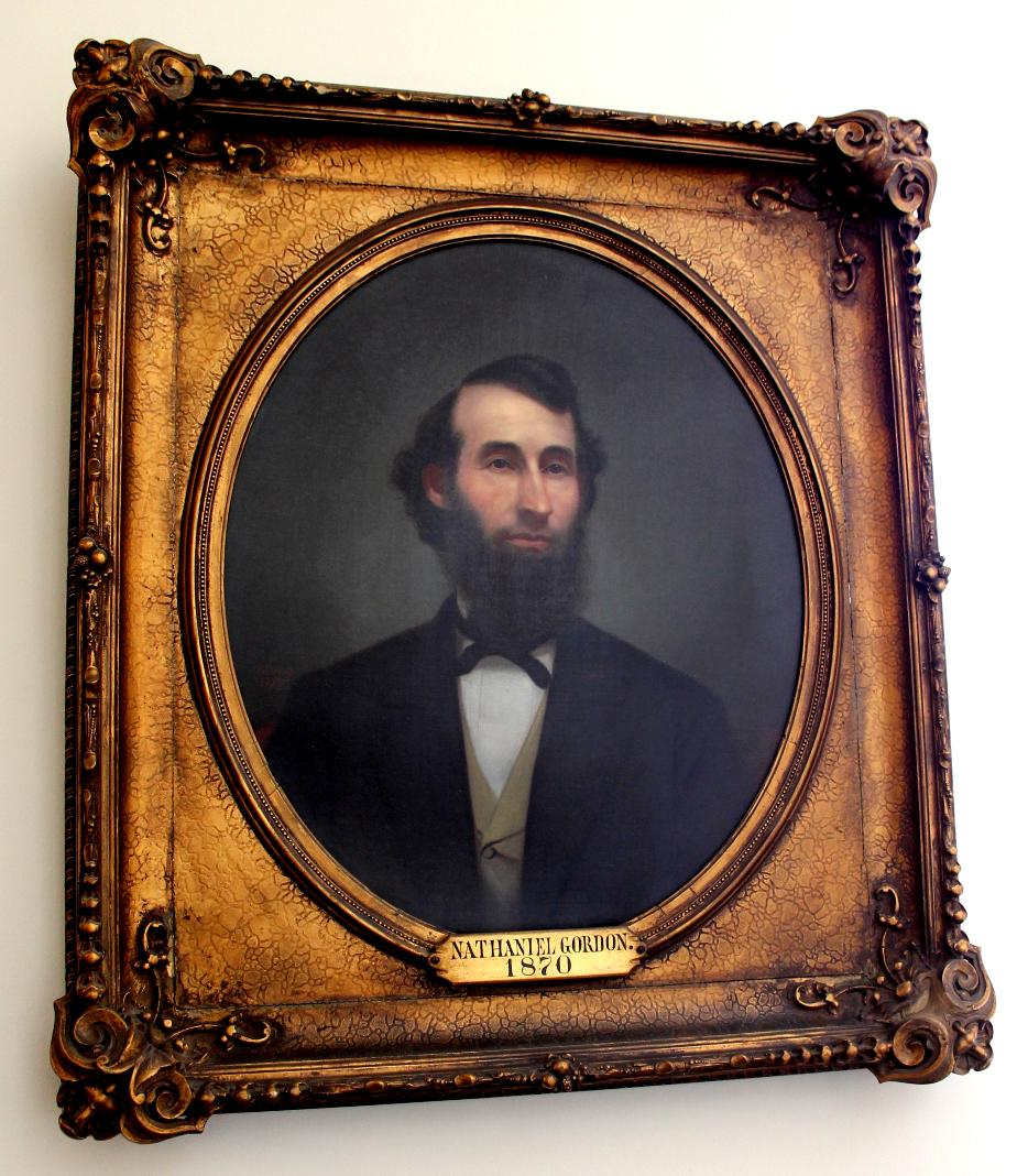 Nathaniel Gordon - NH Senate President 1870 - NH State House Portraits