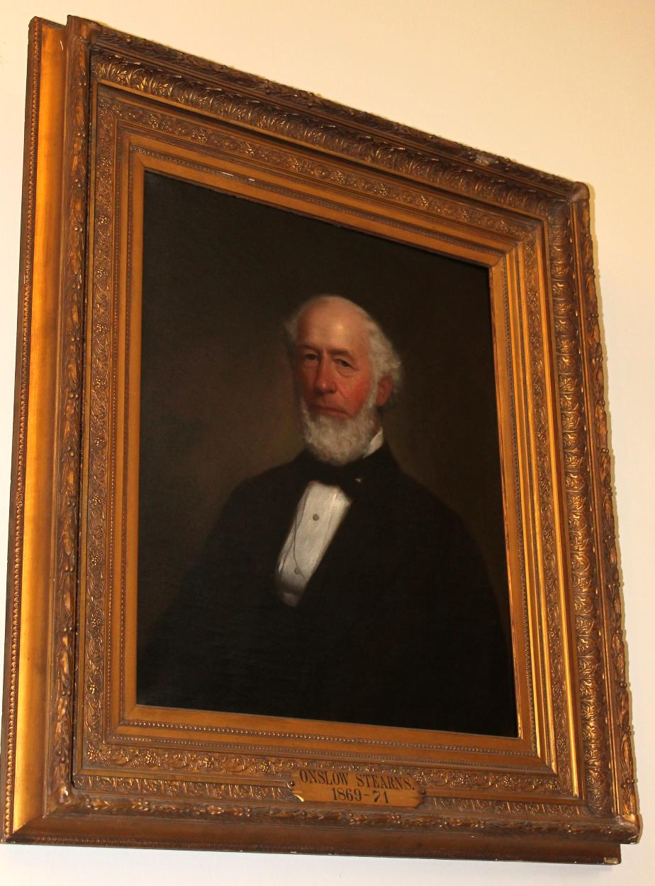 Governor Onslow Stearns State House Portrait