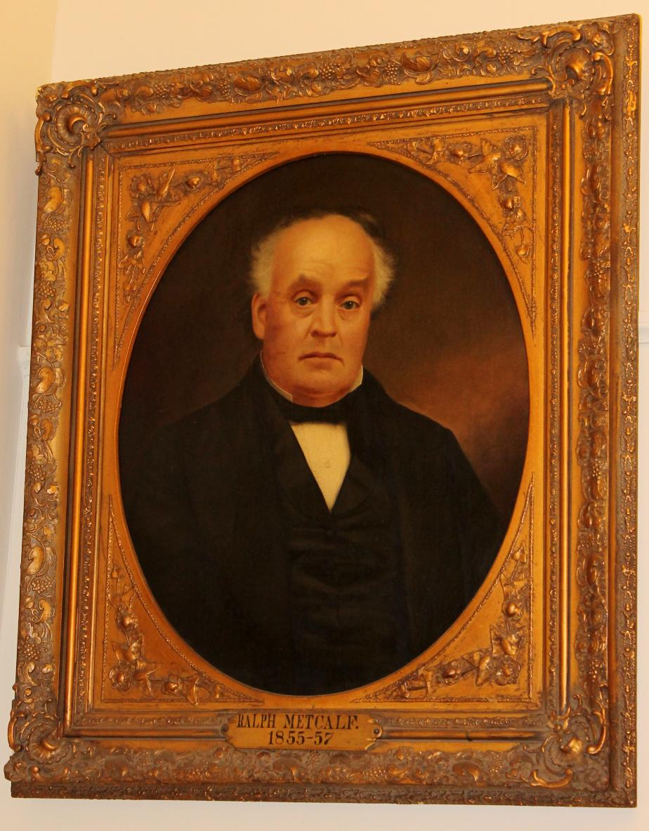 Governor Ralph Metcalf, NH State House Portrait