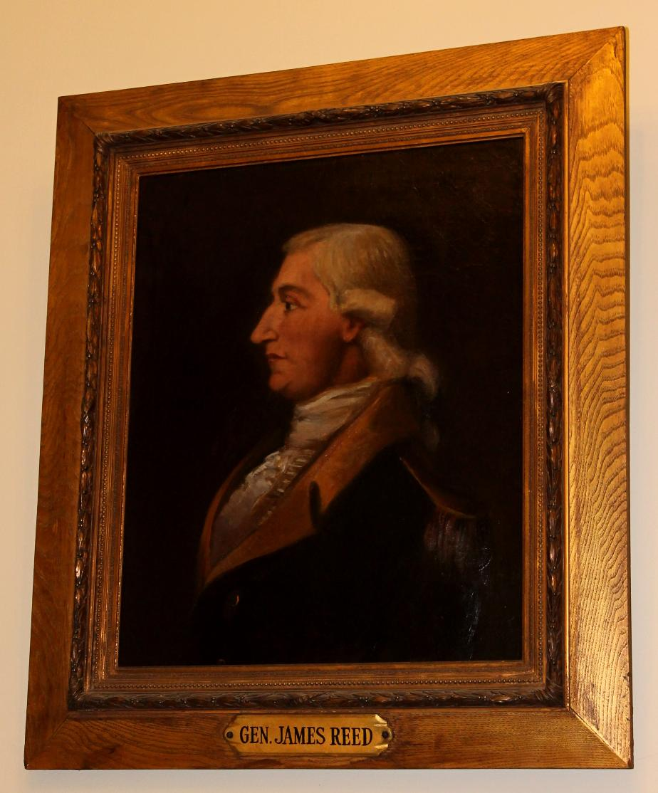 General James Reed NH State House Portrait
