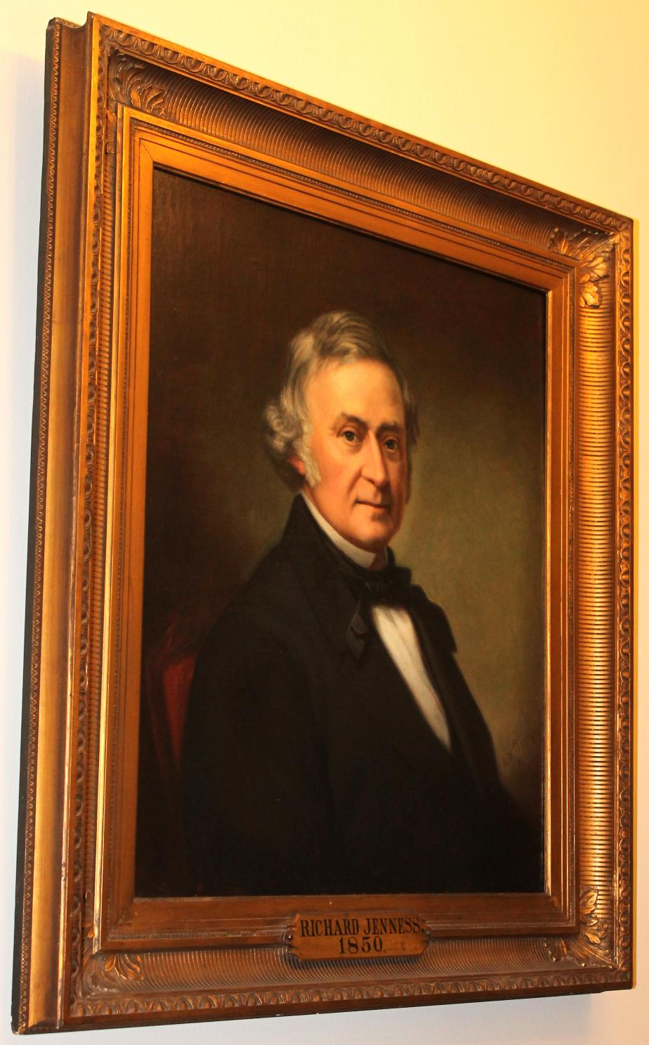 Richard Jenness NH State House Portrait