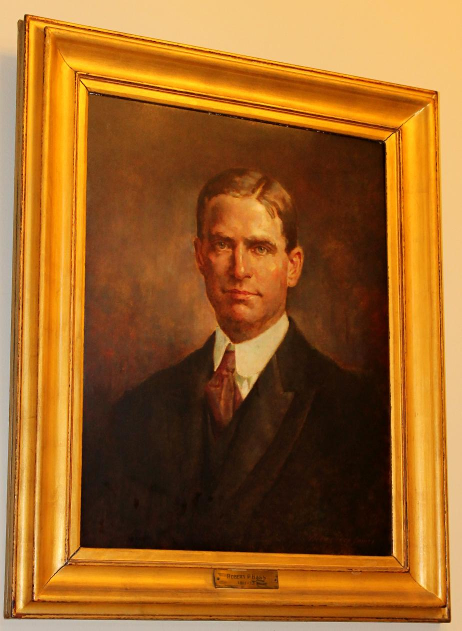Governor Robert P. Bass, NH State House Portrait