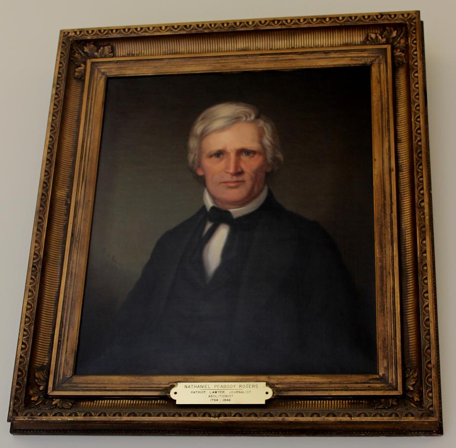 Nathaniel P. Rogers State House Portrait
