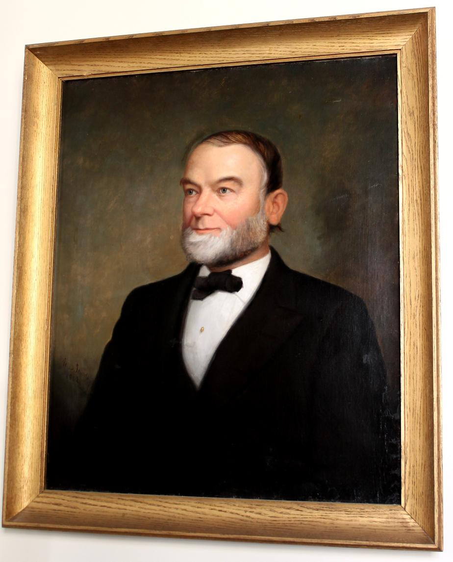 Thomas Logan Tullock - NH Secretary of State - NH State House Portrait