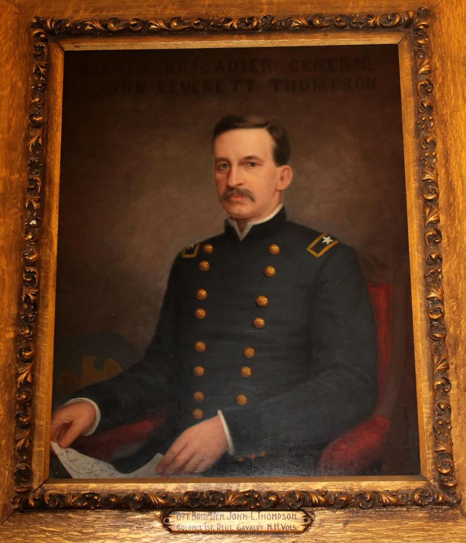 Brig. General John L Thompson NH State House Portrait