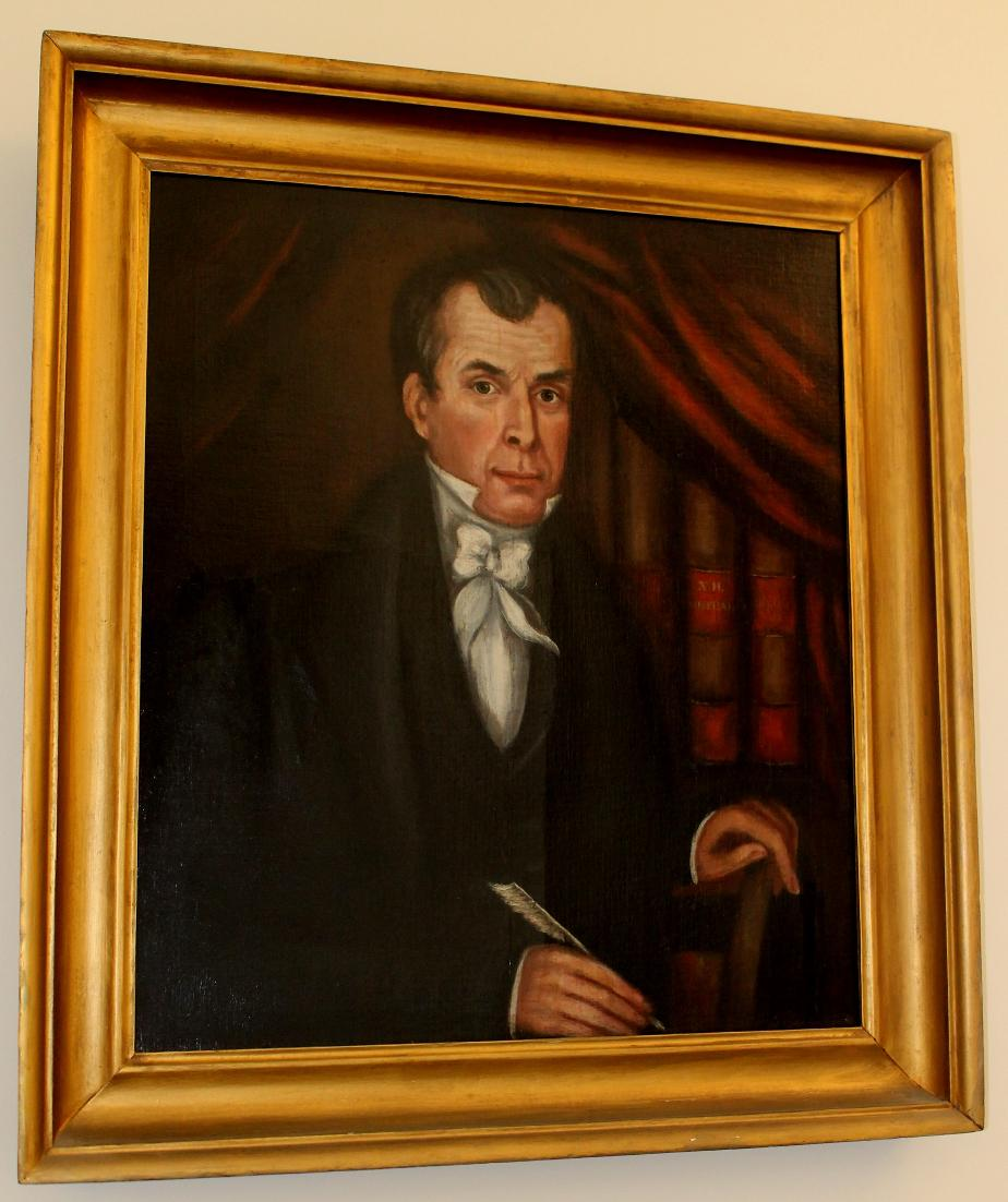 Timothy Farrar - Judge of Court of Common Pleas 1824 - NH State House Portrait