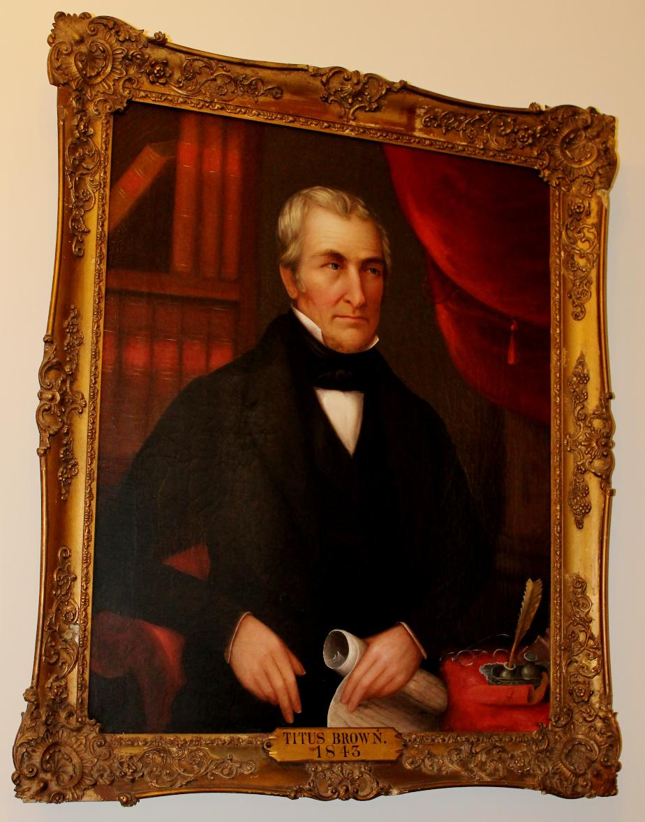 Titus Brown NH State House Portrait