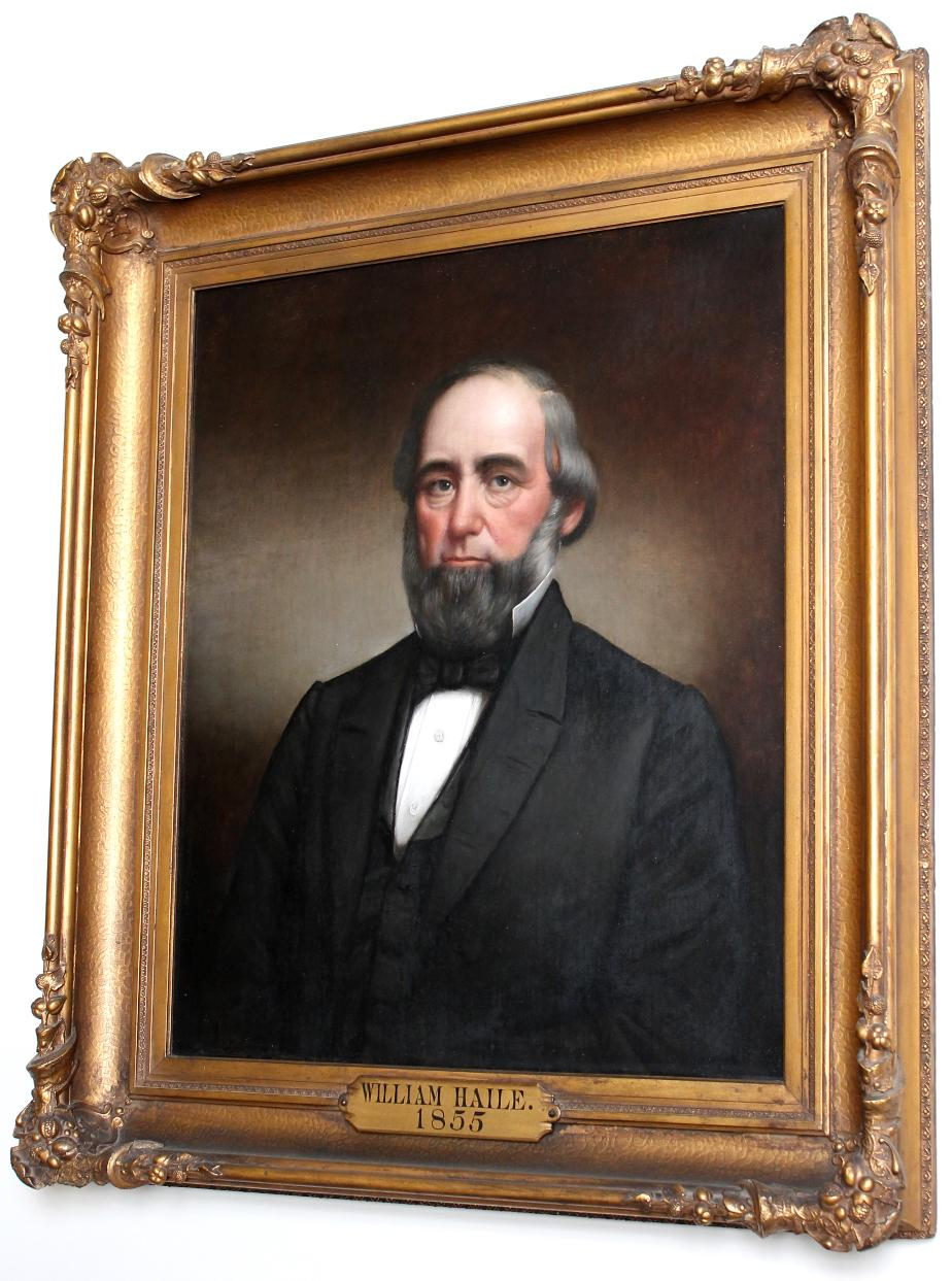 Wiliam Haile Senate President NH State House Portrait