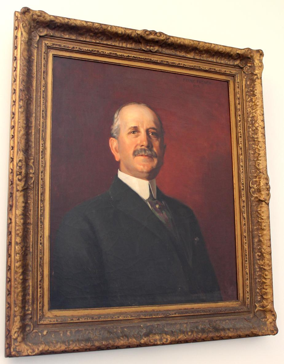 William Swart Senate President NH State House Portrait