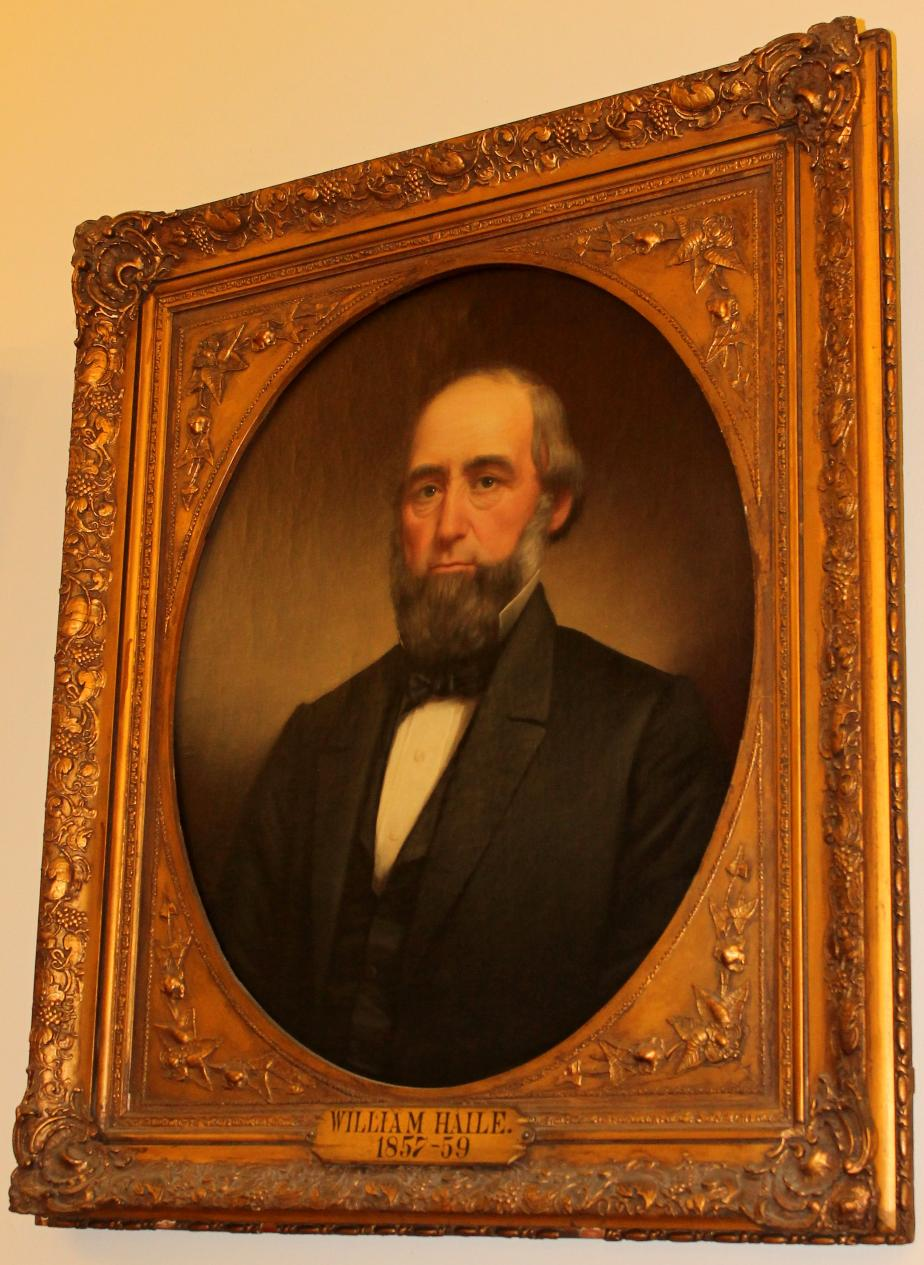 Governor William Haile NH State House Portrait