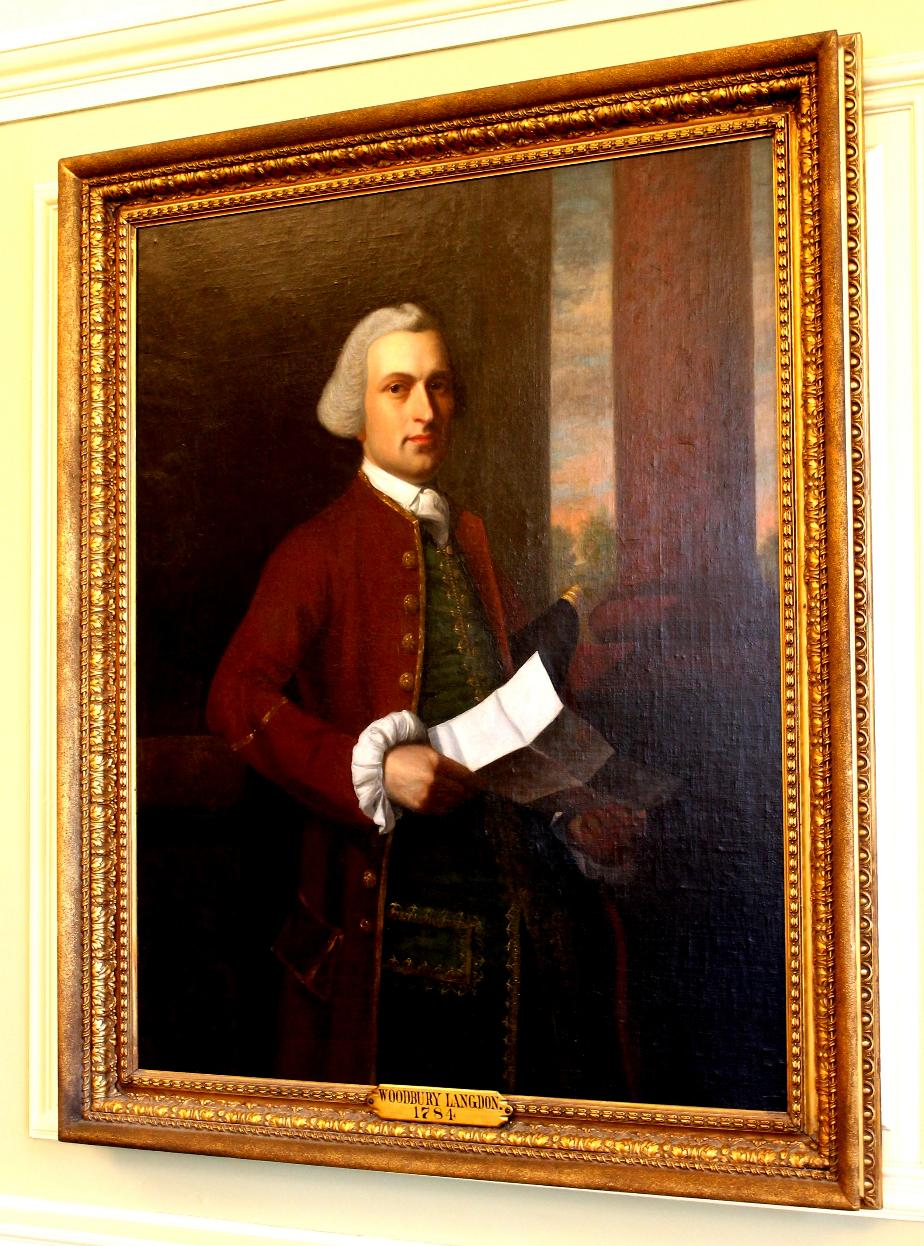 Woodbury Langdon, NH State House Portrait