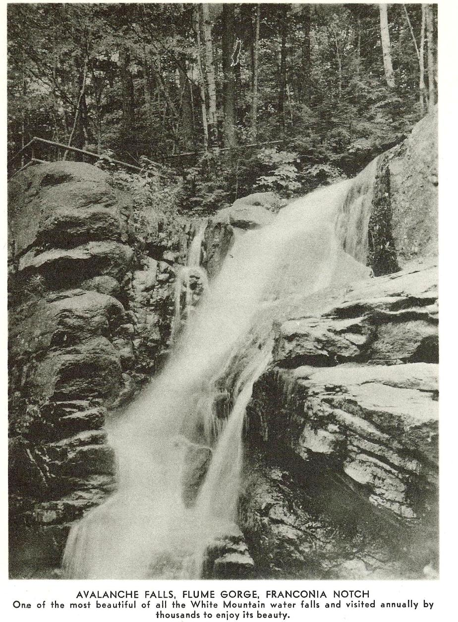 Avalanche Falls, Flume Gorge, Franconia Notch