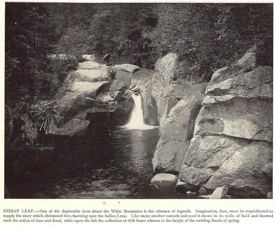 Indian Leap Falls, North Woodstock, New Hampshire