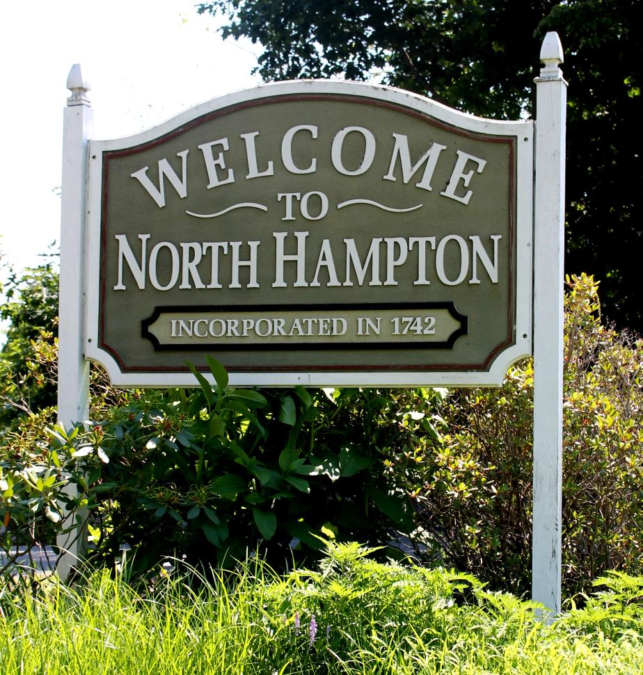 North Hampton New Hampshire Town Welcome Sign