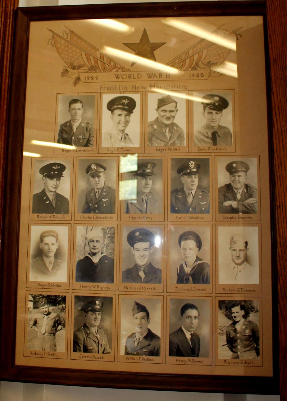 Franklin New Hampshire - Heroes of World War II