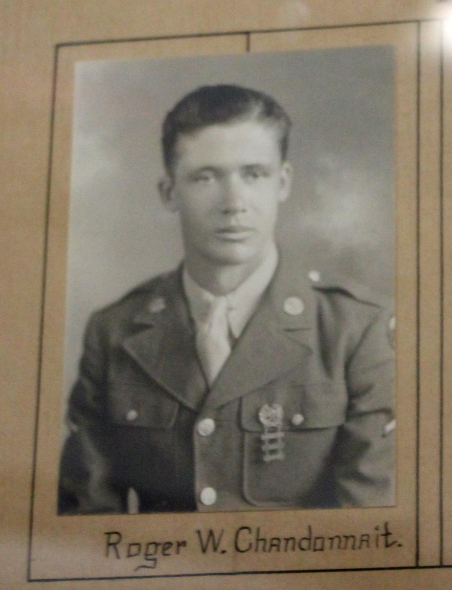 Franklin New Hampshire - Heroes of World War II Roger Chandonnait